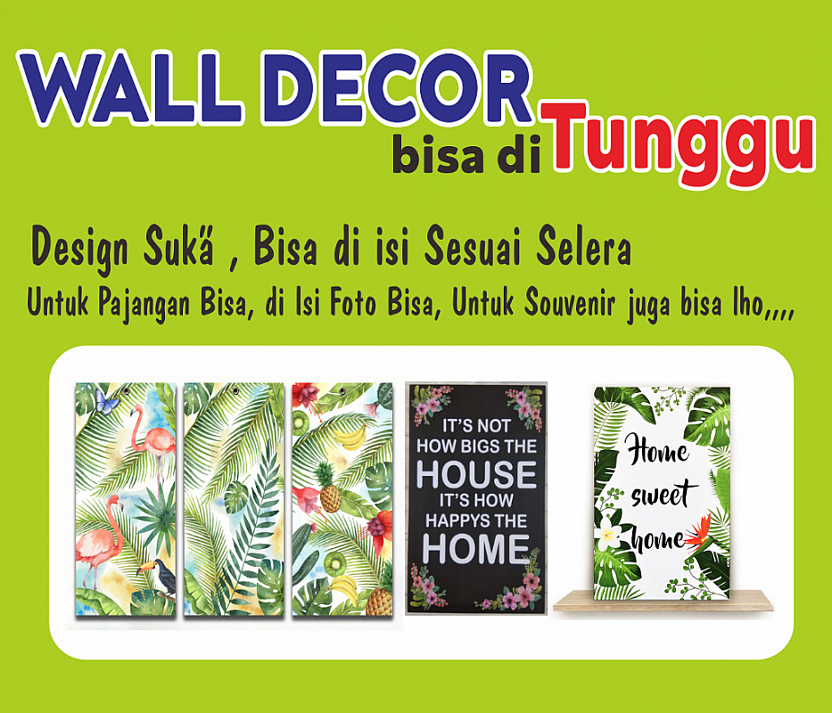 Wall Decor Dinding